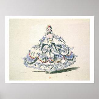 Traje de la ópera, de la colección de Plaisirs de  Posters