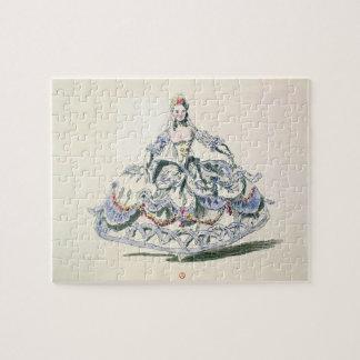 Traje de la ópera, de la colección de Plaisirs de  Puzzles