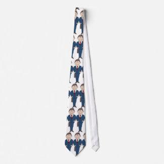Traje de negocios corbatas personalizadas