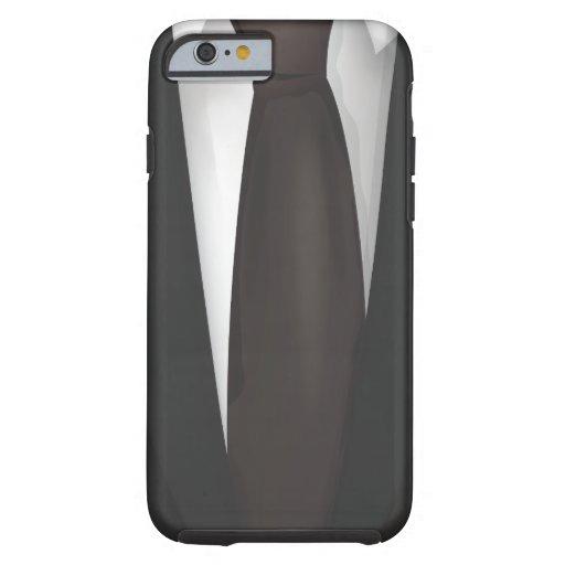 Traje de negocios funda de iPhone 6 tough
