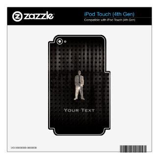Traje de negocios rugoso iPod touch 4G skin