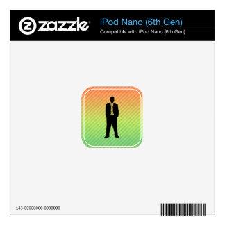 Traje de negocios calcomanía para el iPod nano