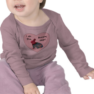 Traje del bebé de Halloween del salto del conejito Camiseta