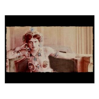 Traje del Harem de Mata Hari Tarjeta Postal