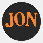Traje del instante de Jon Etiqueta