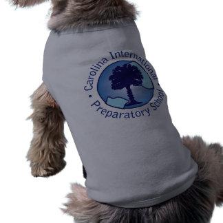 Traje del mascota de la preparación de Carolina Playera Sin Mangas Para Perro