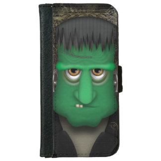 Traje divertido de Frankenstein Halloween Funda Cartera Para iPhone 6