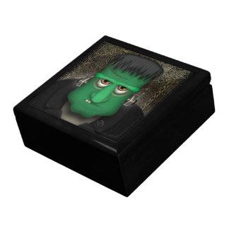 Traje divertido de Frankenstein Halloween Cajas De Joyas