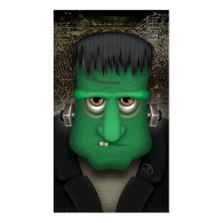 Traje divertido de Frankenstein Halloween Tarjetas De Visita