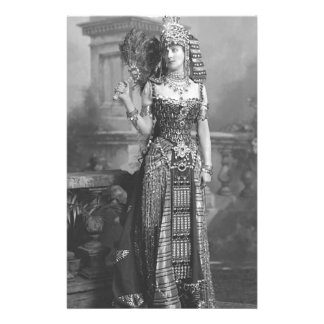 Traje egipcio antiguo del Victorian Papeleria De Diseño