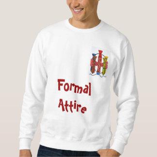 Traje formal suéter