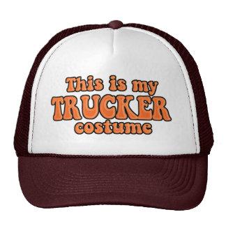 Traje inmediato de Halloween del camionero Gorros Bordados