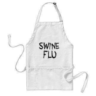 Traje inmediato de la gripe de los cerdos delantales