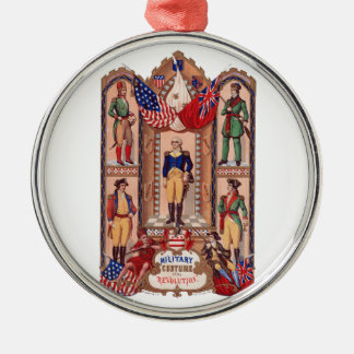 Traje militar de la guerra revolucionaria 1855 ornamento para arbol de navidad