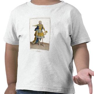 """Traje para Apolo en la ópera """"Phaethon"""", engrav Camisetas"""