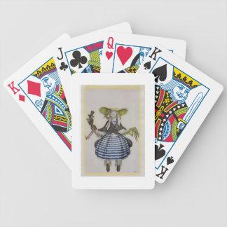 Traje para el chica de la marioneta, del boutique  barajas de cartas