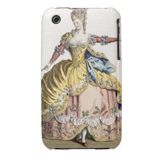 Traje para la reina de los silfos en el ballet iPhone 3 Case-Mate protectores