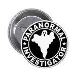 Traje paranormal de Halloween del logotipo del inv Pin