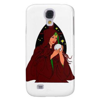 Traje rojo Wiccan. Carcasa Para Galaxy S4