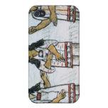 Trajes aztecas femeninos iPhone 4/4S carcasas