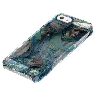 Trajes de los pares del vestido de lujo funda clearly™ deflector para iPhone 5 de uncommon