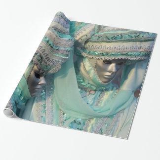 Trajes de los pares del vestido de lujo papel de regalo