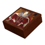Trajes rojos de Elizabeth I Cajas De Joyas