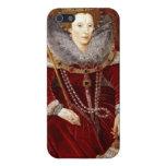 Trajes rojos de Elizabeth I iPhone 5 Fundas