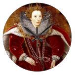 Trajes rojos de Elizabeth I Relojes