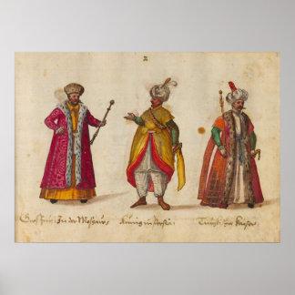 Trajes y aduanas (1560 - 1570) poster