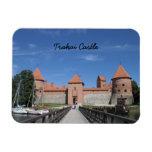 Trakai castle Premium Magnet