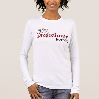 Trakehner horses long sleeve T-Shirt