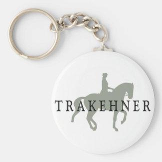 TRAKEHNER with Dressage Horse & Rider Keychain