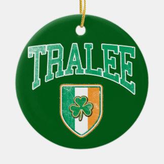 TRALEE Ireland Ceramic Ornament