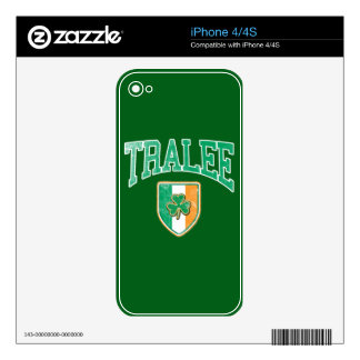 TRALEE Ireland Decal For iPhone 4