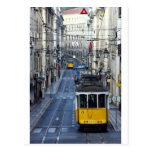 Tram 28, Lisbon, Portugal Cartões Postais