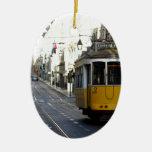 Tram 28, Lisbon, Portugal Christmas Tree Ornament