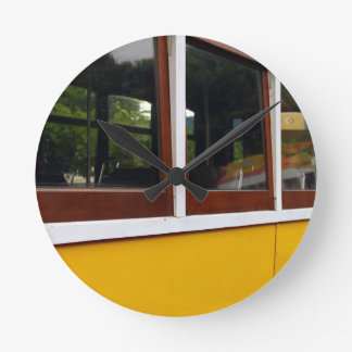 Tram 28, Lisbon, Portugal Round Clock