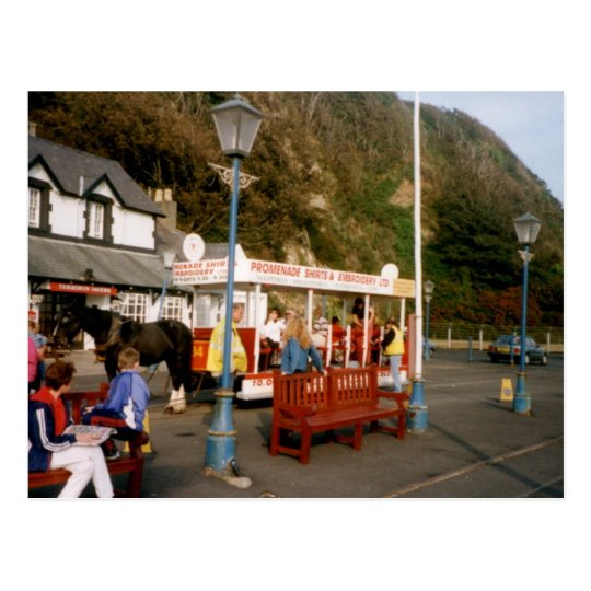 Tram, Douglas, Isle of Man Postcard