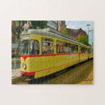 Tram Düsseldorf Germany. Jigsaw Puzzle