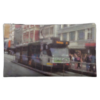 Tram in Melbourne Cosmetic Bag