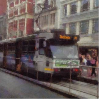 Tram in Melbourne Cutout