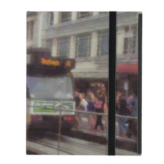Tram in Melbourne iPad Cover