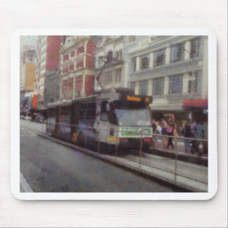 Tram in Melbourne Mouse Pad