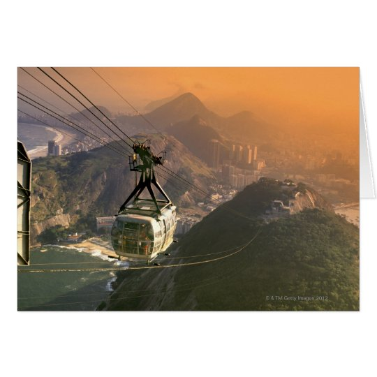 Tram in Rio de Janeiro, Brazil Card