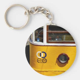 Tram, Lisbon, Portugal Keychain