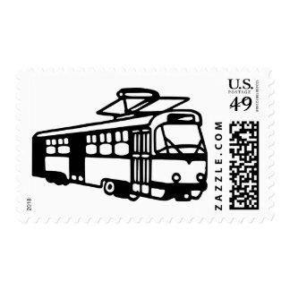 Tram - Subway Stamps