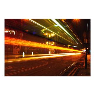 Tram Trails (large) Photo Print