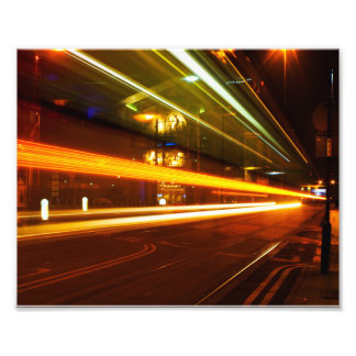 Tram Trails Photograph