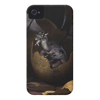 Trama de dragones Case-Mate iPhone 4 protectores